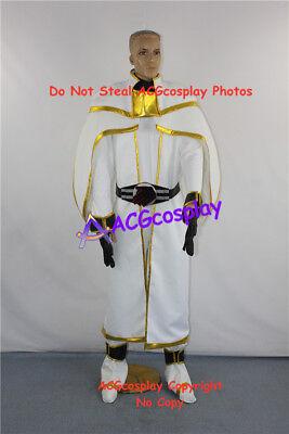 Kamen Rider Wizard cosplahy Shiroi Mahoutsukai Cosplay Costume incl. buckle prop for sale  Shipping to Canada