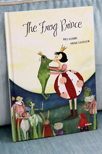 Beau livre Le Prince Grenouille Gorgeous Book The Frog Prince