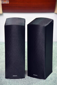 Onkyo Dolby Atmos Speakers SKF 693 with Speaker Stands
