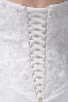 Add a Corsett Back to Your Wedding Gown!