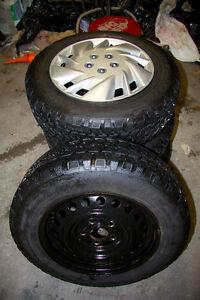 Honda civic winter tires with rims Oakville / Halton Region Toronto (GTA) image 3