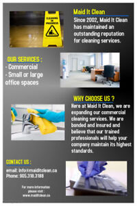 Commerical / Office cleaning company