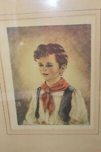 Vintage Pair of Gypsy Prints London Ontario image 2