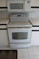 Ge ceramic top stove