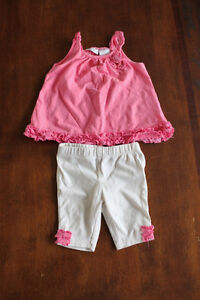 Girls maggie and zoe outfit, size 0-3months