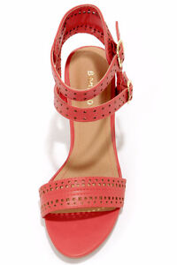 Bamboo Kendria 03 Coral Cutout High Heels West Island Greater Montréal image 3