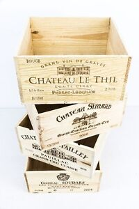 Wedding Table Centre Pieces - Re-sized French Wine Crates Regina Regina Area image 7