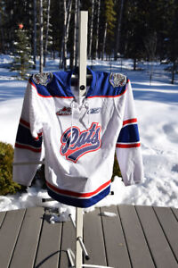 Regina Pats hockey jersey- SK Roughriders Team jacket