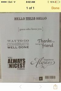 Stampin up happy greetings