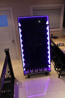 Jumbo plinko board with LED lights for rent