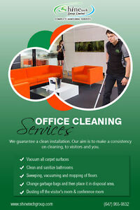 Quick & Affordable Quotes Office Cleaning Services Toronto!!!