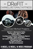 Customized Workout Programs to Achieve your goals!