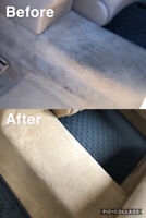 Car detailing! Specializing in interior stain removal! Cheapest