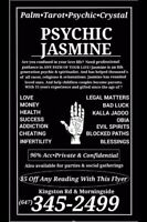 Psychic Jasmine Call For 2 Free Questions