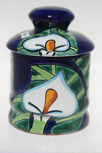 Mexican ceramic jar with lid Kingston Kingston Area image 2