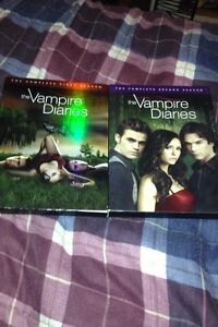 The vampire diaries, season one & two