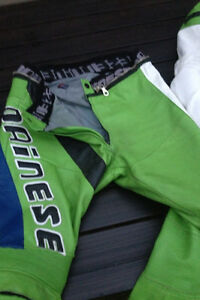 Dainese Motorcycle 2 piece zip up suit London Ontario image 5