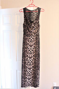 Summer/Special Occasion Dress-Leopard Print