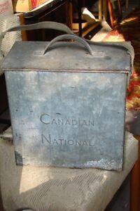 Vintage Canadian National Railway Cooler Belleville Belleville Area image 1
