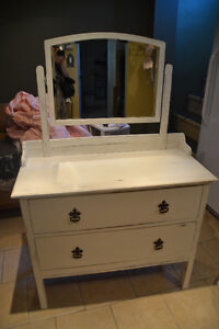 Small antique shabby chic dresser for sale.