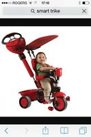 Tricycle smart trike rouge