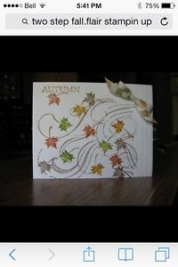 Two step fall flair by Stampin up London Ontario image 3