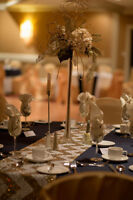 Elegant Lighted Table Centerpieces