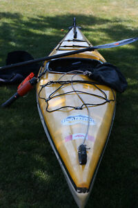 Escape Kayak by Impex/Formula, Paddle, skirt and accessories