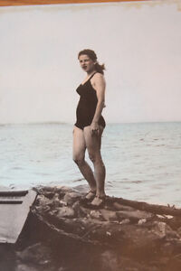 Vintage Photograph - Woman In Bathing Suit London Ontario image 2