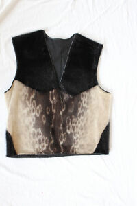 Beautiful Harp Sealskin Pullover Vest