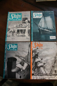 SHIPS AND THE SEA VINTAGE MAGAZINE COLLECTION