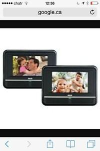 "RCA dual DVD and 7"" screen player"