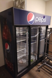 Large Pepsi Fridge