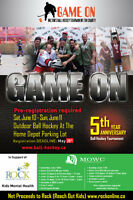 MOWC Foundation's 5th Annual Game ON! Outdoor Ball Hockey