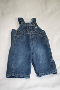 Children's Place Overalls 6-9mos