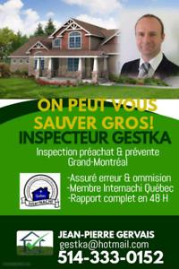 Inspecteur en bâtiment résidentiel