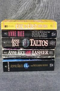 5 Book Lot - Anne Rice (Horror Fiction (Mayfair Witches, etc.))