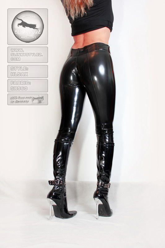 booty leggings slinkystylez hl5ax syntheticrubber black gr xs eur 40 00 picclick fr. Black Bedroom Furniture Sets. Home Design Ideas