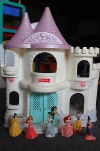 Disney Princess Figures & Disney Princess Castle
