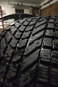 Firestone Winterforce 265/70/R17 Studded Winter Tires, Set of 4