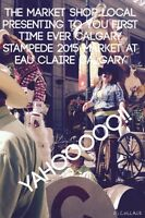 YAHOOOO!! STAMPEDE MARKET JULY 3-12 @ EAU CLAIRE
