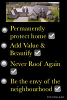 STOP RENTING YOUR ROOF!  -  Get a Beautiful Permanent Metal Roof