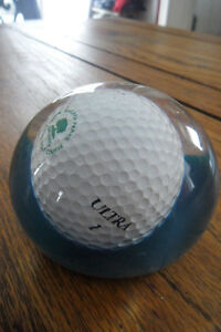 Vintage golf items