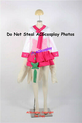 Dynasty Ahri Cosplay Costume from league of legends incl nine pcs fur tails
