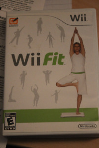 Wii Fit and Wii Fit Plus games