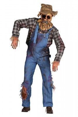 Gruselige Vogelscheuche Horror Kostüm Zombie Hexer Halloween Strohpuppen Gärtner