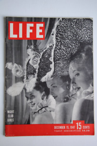 Life Magazine, 65 Issues, 1937 to 1948