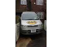 Mazda Bongo 8 Seater with Freetop