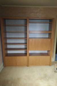 Book Shelve Unit - Self Standing, Laminate On Composite Wood