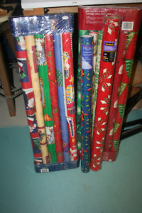 Christmas Wrapping Paper & Christmas Cards